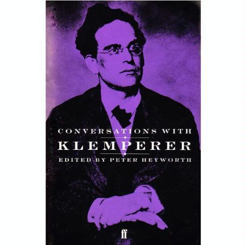 英書Conversation with Klempererの商品写真