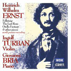 トゥルバン(Vn) エルンスト ヴァイオリン曲集の商品写真