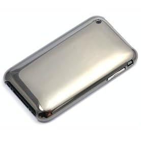 パワーサポート エアージャケットセット for iPhone 3GS/3G ミラーブラック PPK-77