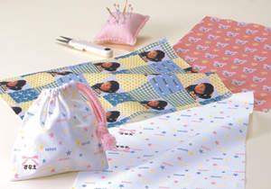 手芸感覚で楽しめる、印刷可能な綿100%の布製シート