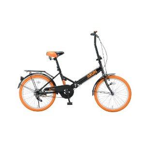 カラータイヤ折りたたみ自転車 ...