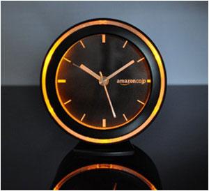 【Amazon.co.jp限定】 Amazon.co.jp ロゴ版 アラーム クロック 目覚まし時計