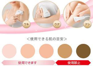 Свет свете красота инструмент красоты Panasonic ES-WH70 (для тела)