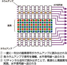 ニコン(NIKON) D3sの画像処理システム