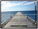 オリンパスPEN E-P2の便利なデジタル水準器