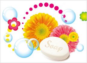 キャンディーフラワー&ソープの香り