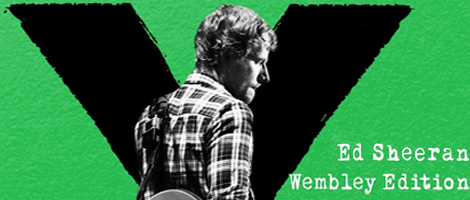 Ed Sheeran's X Wembley Edition CD+DVD
