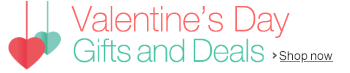 Valentine's Day Gift Ideas and Great Deals