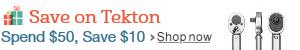 Tekton Holiday Savings
