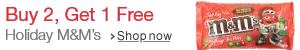 Buy 2, Get 1 Free M&M's