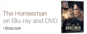 The Homesman on Blu-ray and DVD, starring Tommy Lee Jones and Hilary Swank