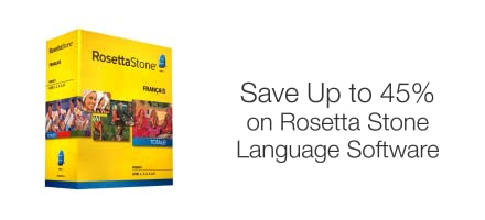 Save Up to 45% on Rosetta Stone Language Software