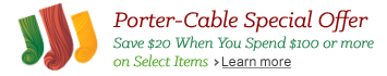 Porter-Cable Special Offer