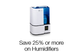 Save 25% or more on Humidifiers