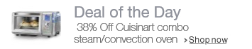 38% off Cuisinart Combo Steam/Convection Oven with New Steam Clean Feature