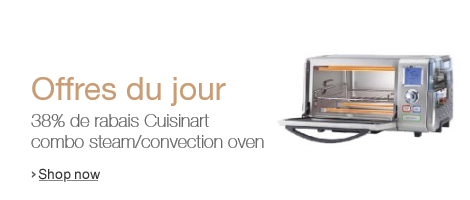 -38% de rabais Cuisinart Combo Steam/Convection Oven with New Steam Clean Feature