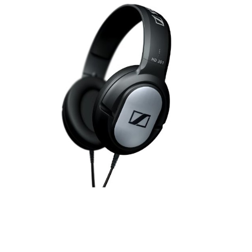 28% off Sennheiser HD 201 Lightweight Over-Ear Binaural Headphones