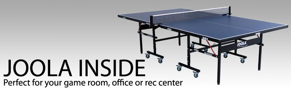 Joola 11200 Inside Table Tennis Ping Pong Table Free