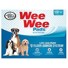 wee wee pads, dog pee pads