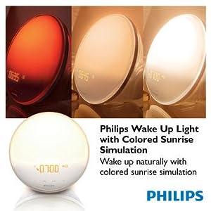 Philips Wakeup light, light therapy, sleep light, mood light, natural light lamp