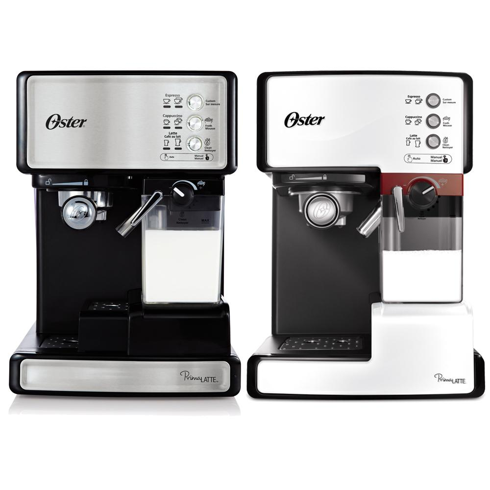 Oster Coffee Maker Set Time : Oster Prima Latte Espresso, Cappuccino and Latte Maker, Stainless Steel BVSTEM6601SS-033: Amazon ...