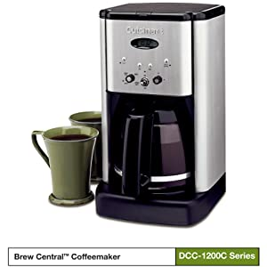 Brew Central 12-Cup Programmable Coffeemaker