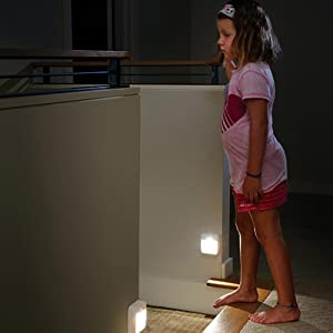 mr beams stick anywhere light, motion sensing nightlight