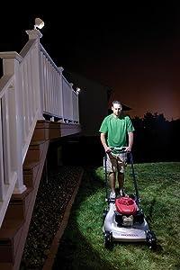 mr beams spotlight with remote control, mb370, mb371, outdoor spotlight