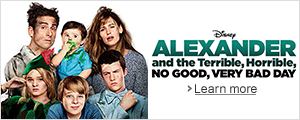 Pre-order Alexander and the Terrible, Horrible, No Good, Very Bad Day