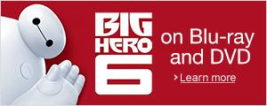 Pre-order Big Hero 6