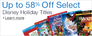 Up to 58% Off Select Disney Holiday Titles