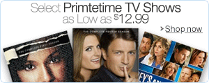 Select Primetime TV Shows as Low as $12.99