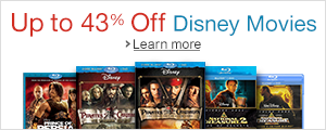 Up to 43% Off Select Disney Movies
