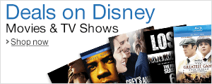Deals on Disney Movies & TV Shows