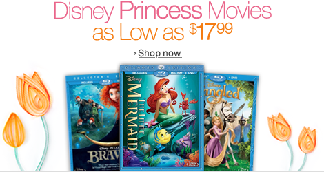 Disney Princess Movies as Low as $17.99