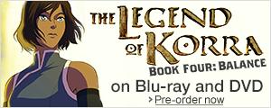 Pre-order Legend of Korra: Book Four