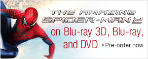 The Amazing Spider-Man 2 on Blu-ray and DVD