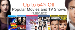 Up to 54% Off Movies and TV Shows