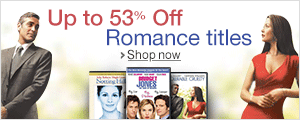 Up to 53% Off Romance Titles