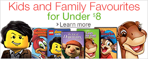 Kids and Family Favourites for Under $8