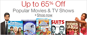 Up to 65% Off Select Movies and TV Shows