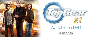 Top Gear 21 on DVD Available Now
