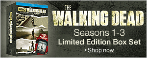 The Walking Dead Seasons 1-3 Box Set
