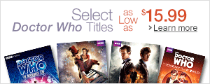Doctor Who as low as $15.99