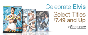 $7.49 and Up Elvis DVDs
