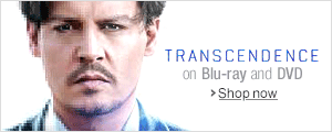 Transcendence on Blu-ray and DVD