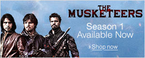 The Musketeers Season 1 Available Now