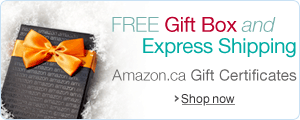 Holiday Amazon Gift Certificates in a Free Gift Box with Free One-Day Shipping