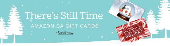 Amazon Gift Cards for Christmas