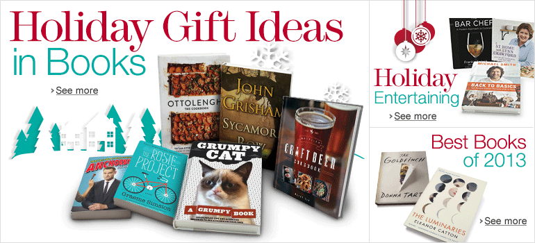 Holiday Gift Ideas in Books
